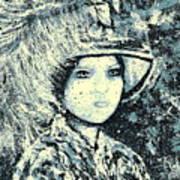 Evalina Art Print