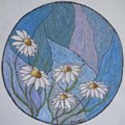 Even Daisies Get The Blues Art Print
