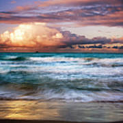 Evening At Kailua Beach Art Print