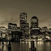 Evening In Boston Art Print