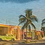 Evening In Cuba Art Print
