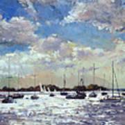 Evening Light - Gulf Of Morbihan Art Print