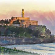 Evening Mood In Jaffa Art Print