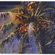 Evening Palm Art Print