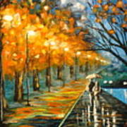 Evening Rain Art Print