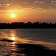 Evening Sunset Art Print