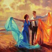 Evening Waltz Art Print