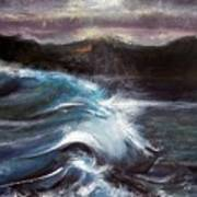 Evening Wave Art Print