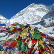 Everest Base Camp Art Print