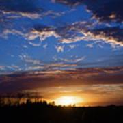Everglade Sunset Art Print