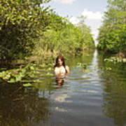 Everglades Beauty One Art Print