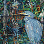 Everglades Art Print