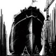 Every Rivet A Bullet - Speed The Ships Art Print