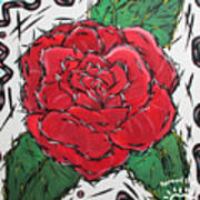 Every Rose Has Its Thorns Art Print