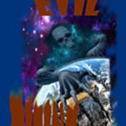 Evil Rising Art Print