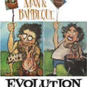 Evolution Poster Art Print