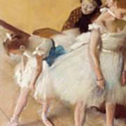 Examen De Danse-dance Examination Art Print