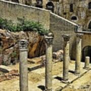 Excavations Art Print