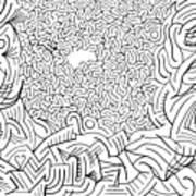 Excogitate Art Print