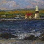 Execution Lighthouse Art Print