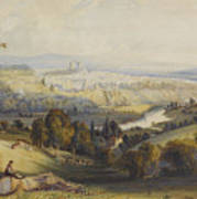 Exeter From Exwick, 1773 Art Print