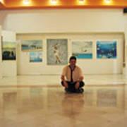 Exhibition Pza. Pelicanos Art Print