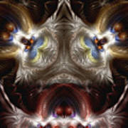 Exogenic Symmetry 1 Art Print