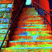Exorcist Steps Art Print