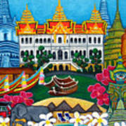 Exotic Bangkok Art Print