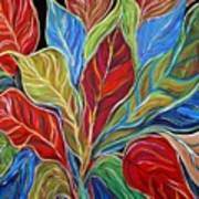 Exotic Foliage Art Print