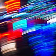 Exploded Lights Art Print