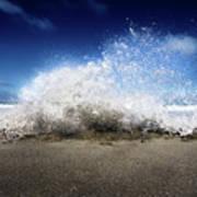 Exploding Seas Art Print