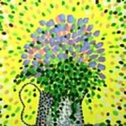 Explosive Flowers Art Print