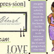 Expression Art Print