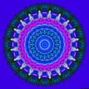 Expression No. 8 Mandala 3d Art Print