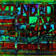 Extended Play Graffiti Radio/tonyadamo Art Print