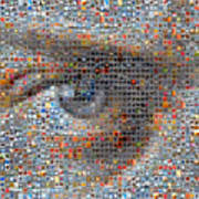 Eye 2 Art Print by Boy Sees Hearts