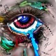 Eye Ball Study One Art Print