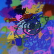Eye Print by Cybele Chaves