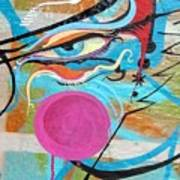 Eye In Blue Art Print