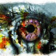 Eye In Hands 001 Art Print
