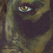 Eye Of Ivy Art Print