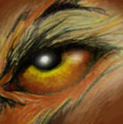 Eye Of The Beast Art Print