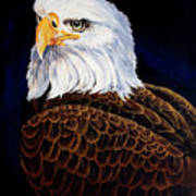 Eye Of The Eagle Art Print