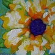 Eye Of The Flower Art Print