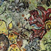 Eye Spy Sunflower Art Print