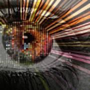 Eye Thoughts Art Print