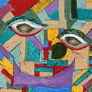 Eye To Eye To Eye Art Print