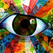 Eye To The Soul Art Print