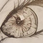 Eyeball 1 Art Print
